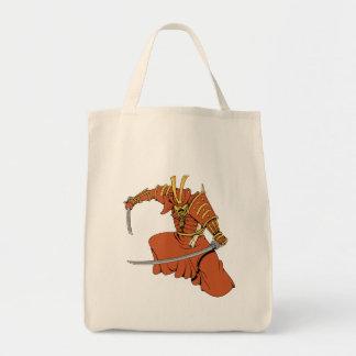 Samurai 6 ~ Ninjas Martial Arts Warrior Fantasy Ar Tote Bags