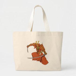 Samurai 6 ~ Ninjas Martial Arts Warrior Fantasy Ar Canvas Bags