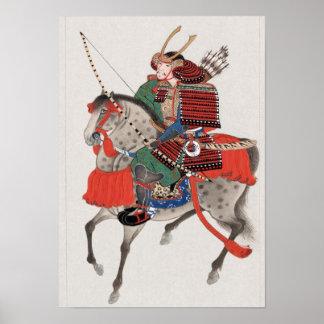 Samurai a caballo posters