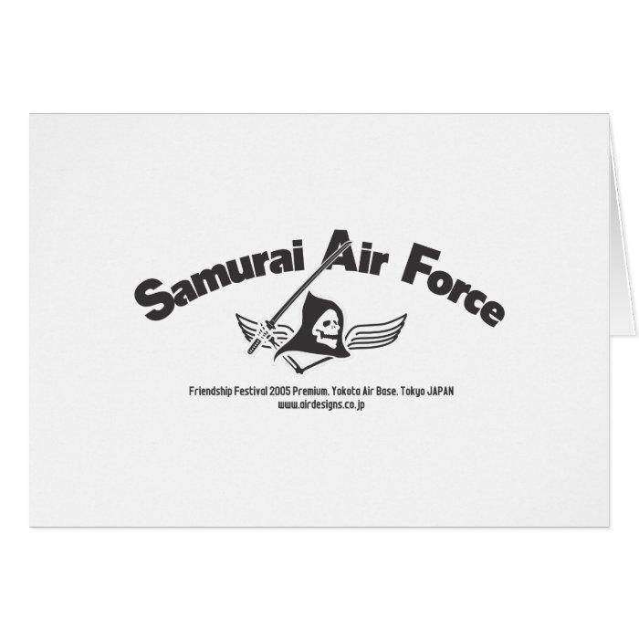 Samurai Air Force Card