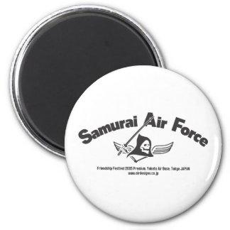 Samurai Air Force Refrigerator Magnet