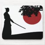 Samurai Alfombrilla De Ratón
