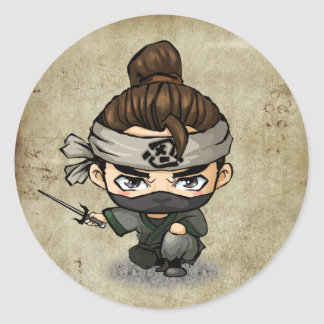 Samurai and Ninja Stickers -  Aoshi