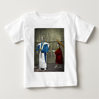 Samurai and Servant Baby T-Shirt