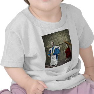 Samurai and Servant Shirts