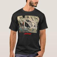 Samurai and Skeleton c. 1800's Shirt