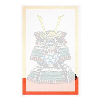 Samurai Armor Ō-yoroi japanese classic art tattoo Stationery