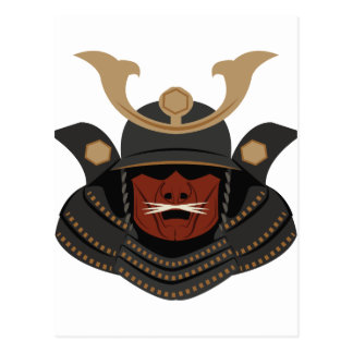 Samurai Armor Postcard