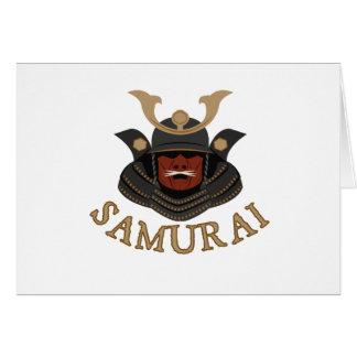 Samurai Armor Samurai Card