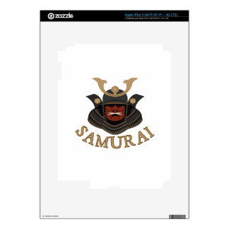 Samurai Armor Samurai iPad 3 Decal