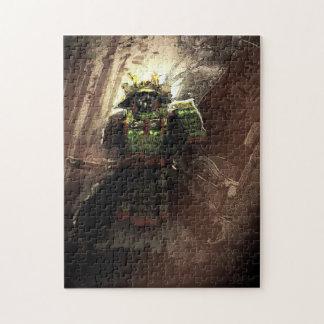 samurai art jigsaw puzzle