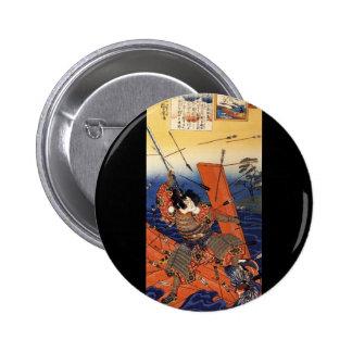 Samurai at War, circa 1800's Pin