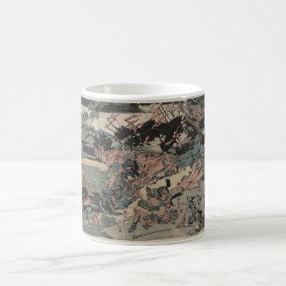 Samurai at War (intricately detailed) circa 1800s Coffee Mug