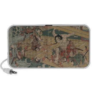 Samurai Battle circa 1813 Speaker