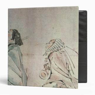 Samurai being followed by a servant binder
