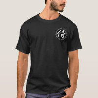 Samurai Black & White Seal Shirt