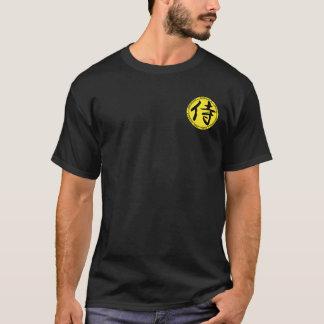 Samurai Black & Yellow Seal Shirt