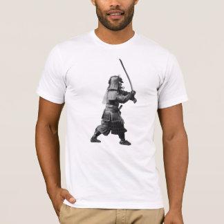 Samurai Brandishing His Sword - Japanese History T-Shirt
