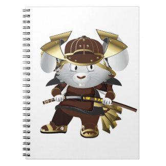 Samurai Bunny Note Book