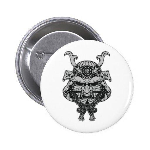 Samurai Pinback Buttons