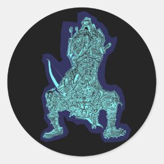 Samurai, by Brian Benson, sticker