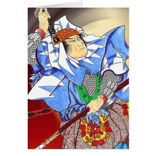 samurai card
