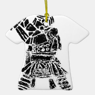 Samurai Ceramic Ornament