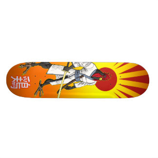 Samurai Chicken Skateboard