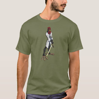 Samurai Chicken T-shirt