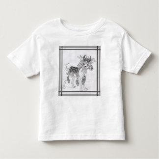 Samurai Chihuahua Toddler T-shirt