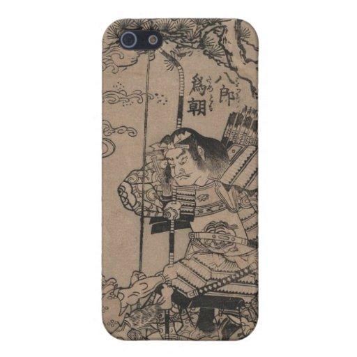 Samurai circa 1700s iPhone 5 protector