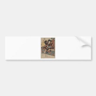 Samurai circa 1800s bumper sticker