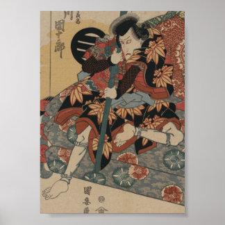 Samurai circa 1800s poster