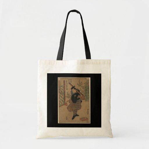 SAMURAI circa JAPÓN 1825 Bolsa Tela Barata