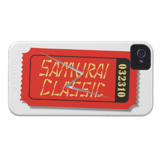 Samurai Classic Movie Ticket Blackberry Case