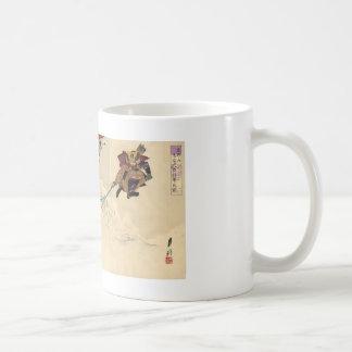 Samurai combat in the snow circa 1890 mugs