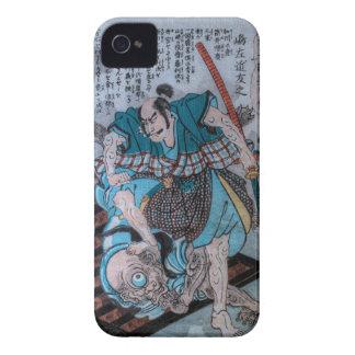 Samurai CONTRA Cyclops Case-Mate iPhone 4 Carcasa
