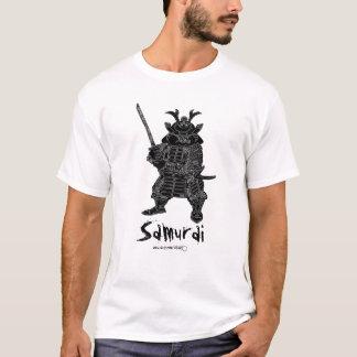 Samurai cool t-shirt design