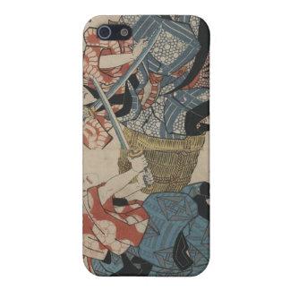 Samurai Crossing Swords circa 1825 iPhone 5 Covers