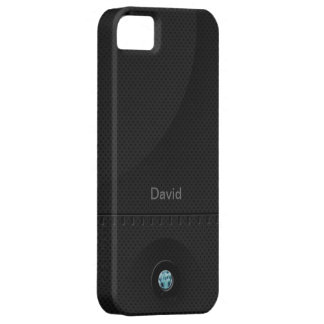 Samurai de acero negro iPhone 5 Case-Mate cárcasas