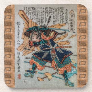 Samurai de Japón feudal V Posavasos