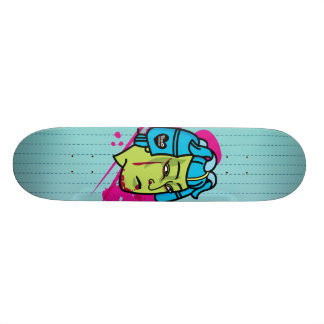 samurai deck custom skate board