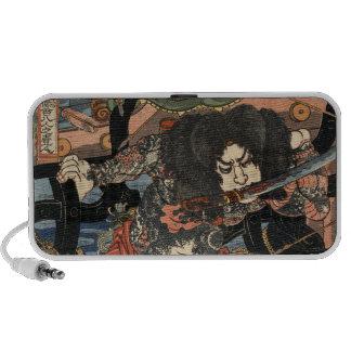 Samurai del tatuaje notebook altavoces