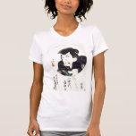 Samurai del vintage camisetas
