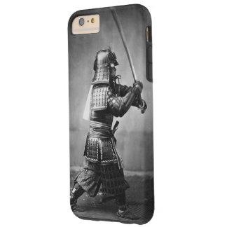 Samurai del vintage con la espada funda para iPhone 6 plus tough