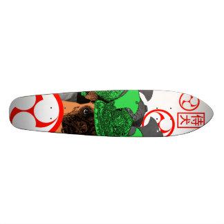 samurai dog skate board