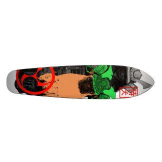 samurai dog skateboard