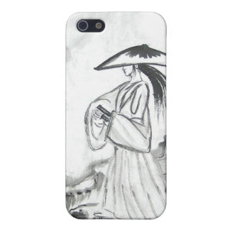 Samurai Drawing Sword iPhone Case