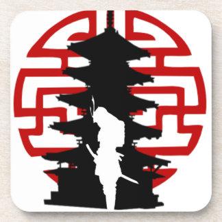 Samurai Drink Coaster