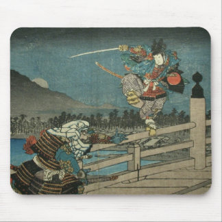 Samurai Duel Mouse Pad